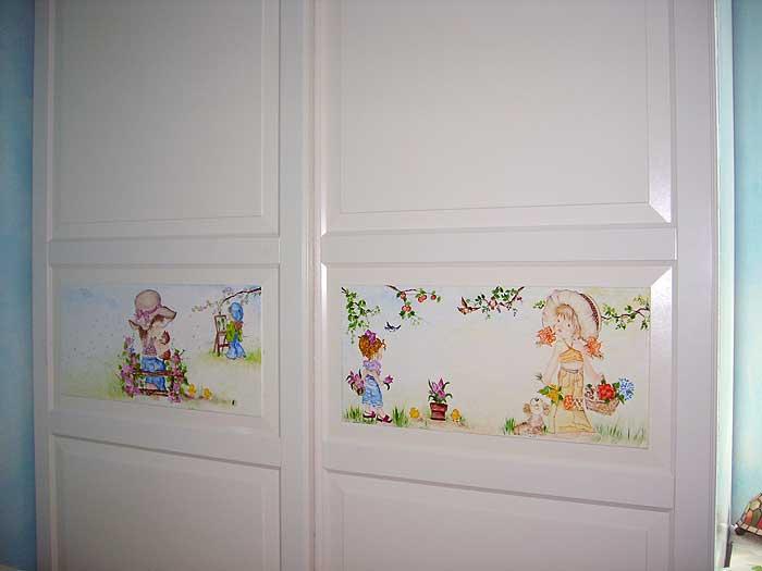 Decorazione Armadio Bambini : Fantasie dei bambini decorazione mobili dalù decò
