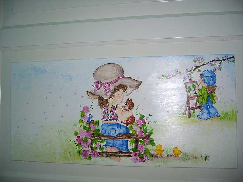 Decorazione Armadio Bambini : Stanza moderna sveglia del ` s dei bambini nel grande deposito di