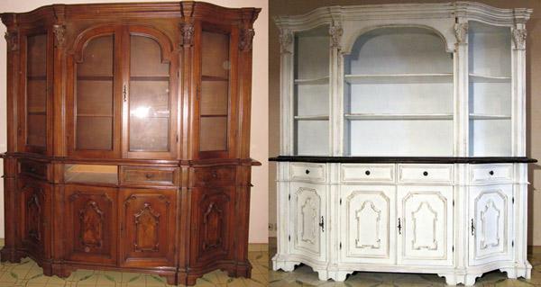 Restauro mobili decorazione mobili dal dec - Ristrutturare mobili vecchi ...