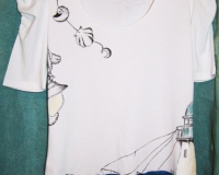 maglietta-dipinta-message-in-the-bottle