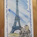 partecipazione sposi parigi